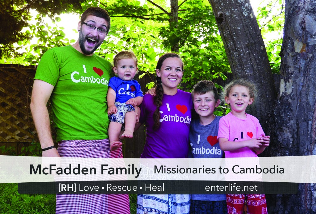 McFadden Family Missionaries to Cambodia